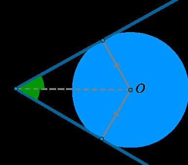 Решение задач с окружностью вписанной в угол тренажер по математике решение задач 2 класс